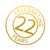 Eldercare Home Health icon celebrating 22 years providing quality home care to seniors in Toronto and the GTA