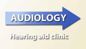 Audiology hearing aid clinic