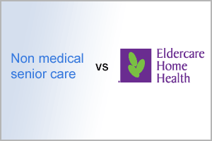 non-medical senior care vs Eldercare Home Health Inc.