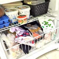 Thawing frozen food safely