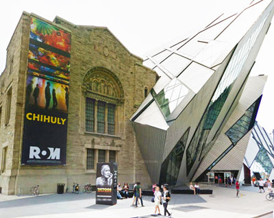 The ROM, photo courtesy Google Street view