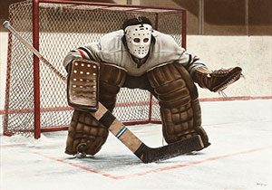 "Ken Danby ""At-the-crease"", 1972"