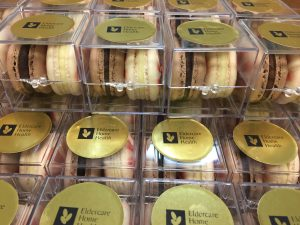 "Everyone received their own little ""Jewel box"", with fabulous hand made macarons from Butter Avenue"