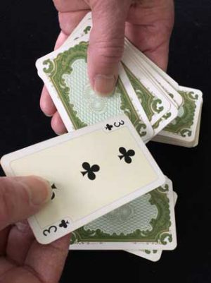 The power of four magic trick
