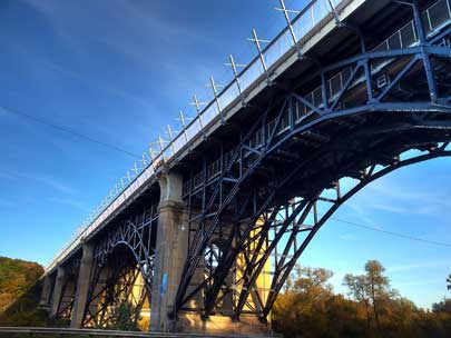 Prince Edward Viaduct System, commonly referred to as the Bloor Viaduct,