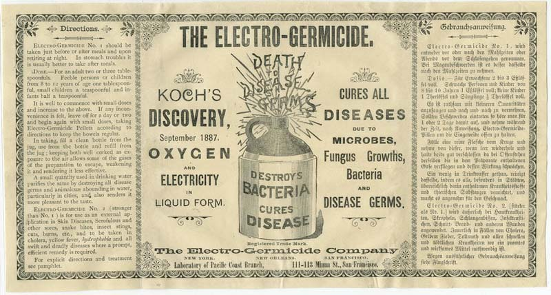 Electro-germacide