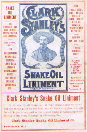 Stanely's Snake Oil Liniment