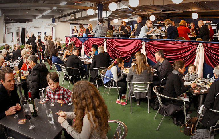 The food court at The Royal Agricultural Winter fair