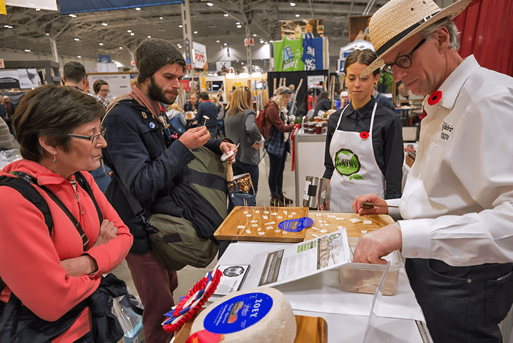 Check out the free samples at the Royal Agricultural Winter Fair