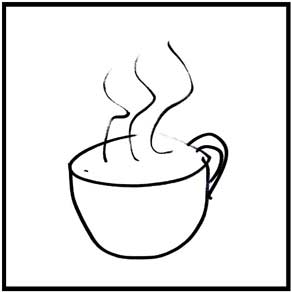 seniors memory drawing of coffee