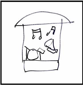seniors-memory drawing concert park