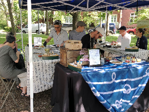 Farmer's market for seniors - fresh oyster bar