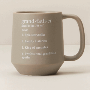 father's day mug for your grandfather